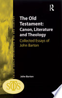 The Old Testament Canon Literature And Theology
