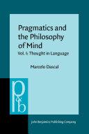 Pragmatics and the Philosophy of Mind