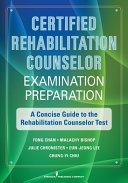 Certified Rehabilitation Counselor Examination Preparation