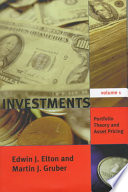 Investments: Portfolio theory and asset pricing