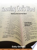 Knowing God s Word Book