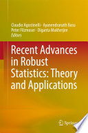 Recent Advances in Robust Statistics  Theory and Applications Book