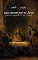 Encountering Jesus Christ