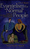 Evangelism for Normal People [Pdf/ePub] eBook