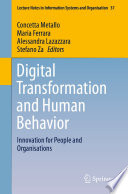 Digital Transformation and Human Behavior
