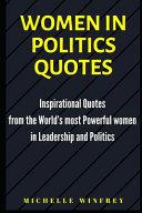 Women in Politics Quotes