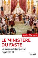 Le Ministère du faste
