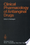 Clinical Pharmacology of Antianginal Drugs Book