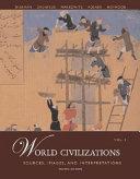World Civilizations  Sources  Images and Interpretations