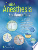 Clinical Anesthesia Fundamentals: Ebook without Multimedia