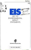 EIS  Key to Environmental Statements Book