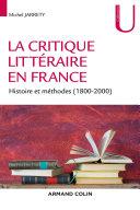 Pdf La critique littéraire en France Telecharger