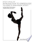 Activity Manual for Introduction to Kinesiology