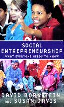 Social Entrepreneurship Pdf/ePub eBook