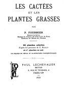Les cactées et les plantes grasses