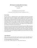 2013 Social Accounting Matrix for Kenya: A Nexus Project SAM [Pdf/ePub] eBook