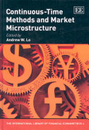 Continuous-time Methods and Market Microstructure