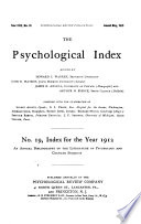 The Psychological Index