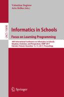 Informatics in Schools: Focus on Learning Programming