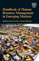 Handbook of Human Resource Management in Emerging Markets Book