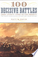 100 Decisive Battles Book