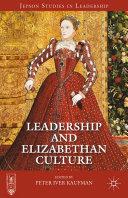 Leadership and Elizabethan Culture Pdf/ePub eBook
