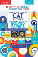 Oswaal CAT 23 Years Chapter wise and Topic wise Solved Papers