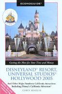 Econoguide Disneyland Resort  Universal Studios Hollywood 2005
