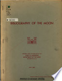 Bibliography of the Moon