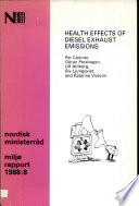 Health Effects of Diesel Exhaust Emissions