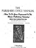 The Publisher S Office Manual