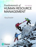 Fundamentals of Human Resource Management   2019 Mylab Management With Pearson Etext Standalone Access Card