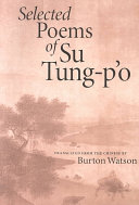 Selected Poems of Su Tung-pʻo
