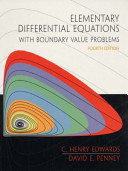 Elementary Differential Equations with Boundary Value Problems  International Edition