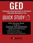 GED PREPARATION SG BK