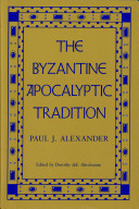 The Byzantine Apocalyptic Tradition ebook