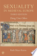 Sexuality in Medieval Europe Book PDF