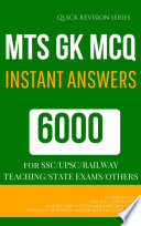 MTS MCQ PREVIOUS YEAR QUESTIONS  MOST IMPORTANT FAQ  GK GENERAL KNOWLEDGE SEREIS EPUB MOBILE FRIENDLY FORMAT