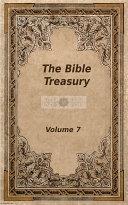 The Bible Treasury Pdf/ePub eBook