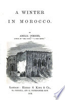 A Winter in Morocco Book