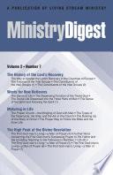 Ministry Digest Vol 02 No 07