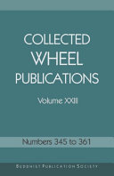 Collected Wheel Publications Volume XXIII