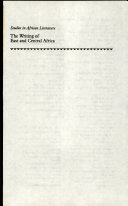 Pdf The Writing of East and Central Africa