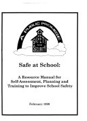 Safe at School Book