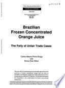 Brazilian Frozen Concentrated Orange Juice