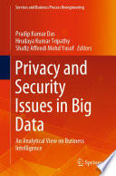 Privacy and Security Issues in Big Data
