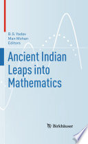 Ancient Indian Leaps Into Mathematics Book PDF