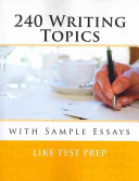 240 Writing Topics