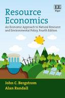 Thumbnail Resource economics