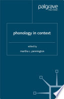 Phonology in Context